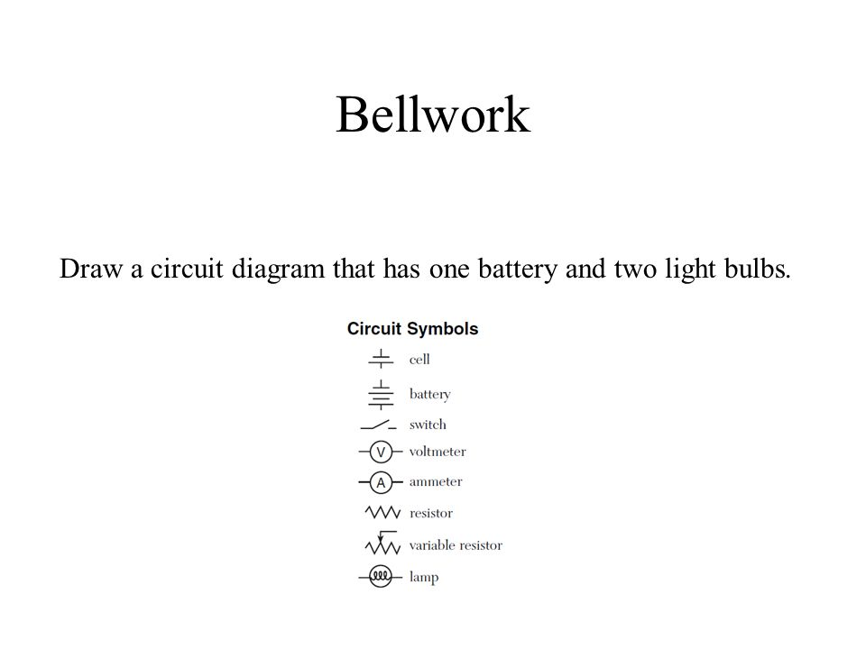 Beautiful Circuit Symbols Cell Pattern - Schematic Diagram Series ...