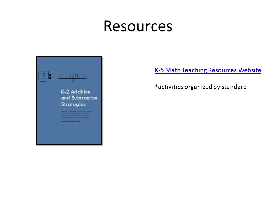 Great Math Teaching Resources K 5 Pictures Inspiration - Printable ...