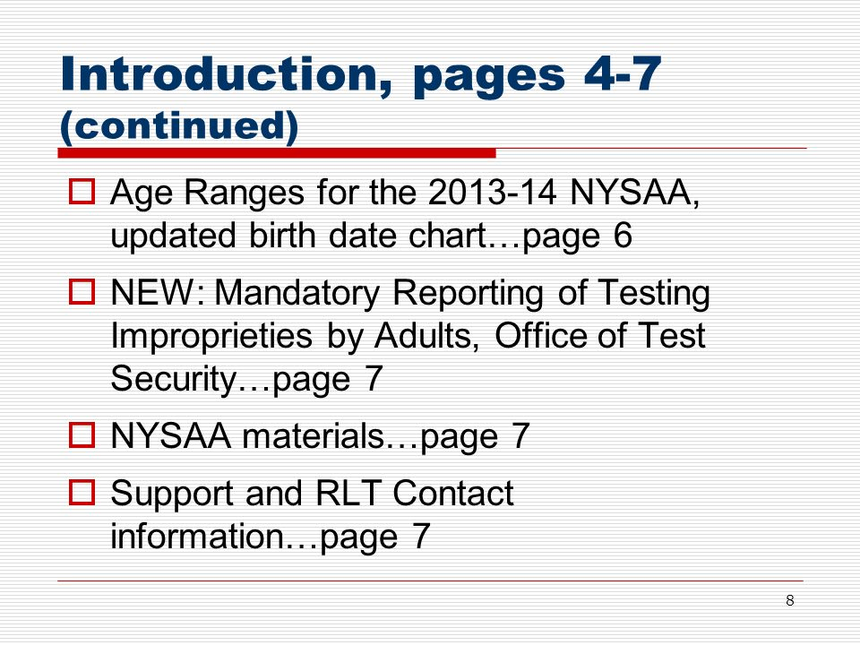 Worksheets Nysaa Worksheets new york state alternate assessment nysaa administration training 8