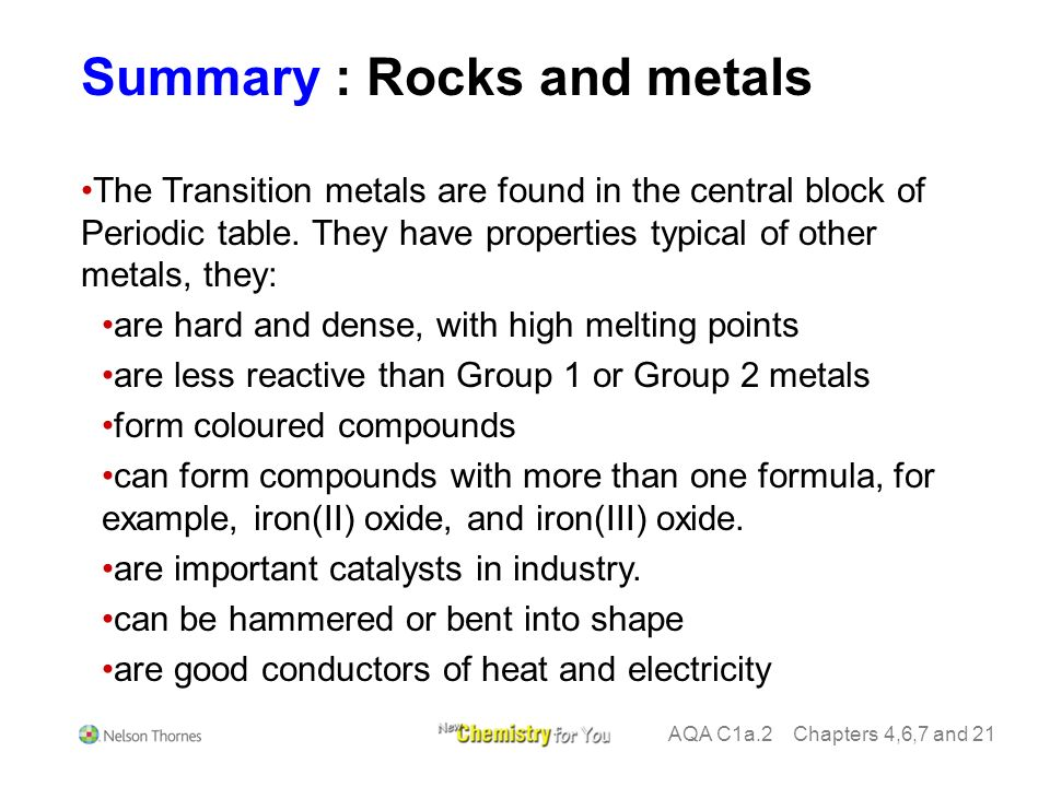 Summary rocks and metals ores are compounds which contain enough 5 alloys urtaz Choice Image