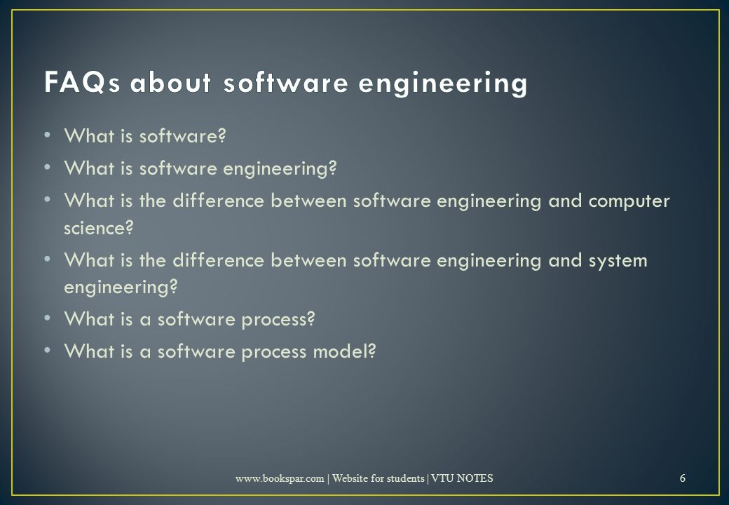What is software. What is software engineering.