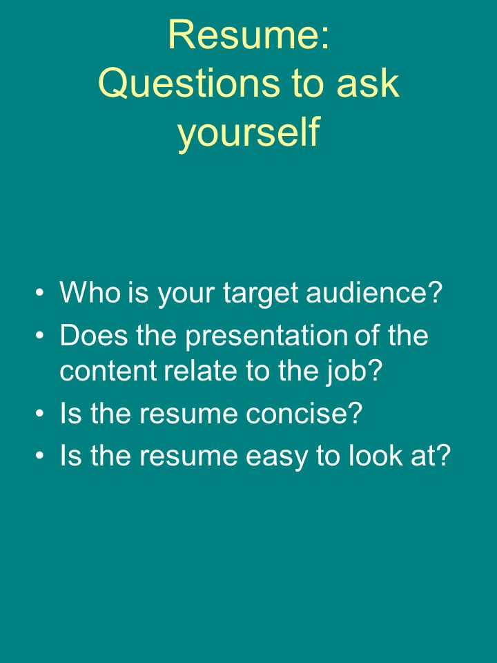 resume and cover letter workshop you have 8 10 seconds to tell