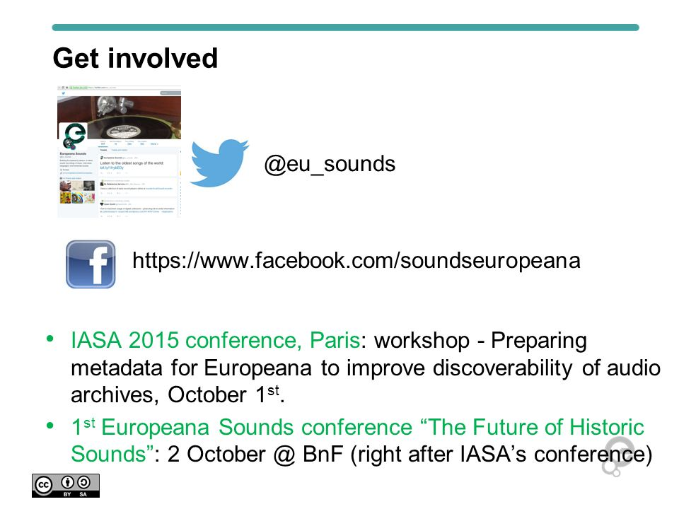 Project website and blog www.europeanasounds.eu
