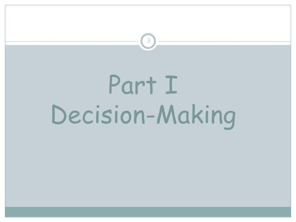 I. DECISION-MAKING II. ABSTINENCE III. REFUSAL SKILLS IV. CONSEQUENCES OF SEXUAL ACTIVITY 2