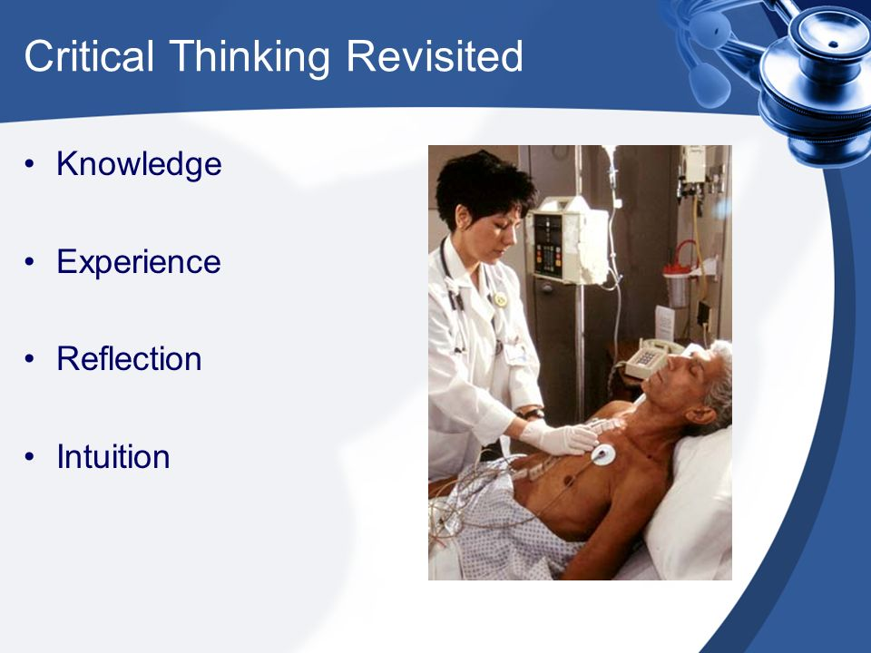 critical thinking steps in nursing