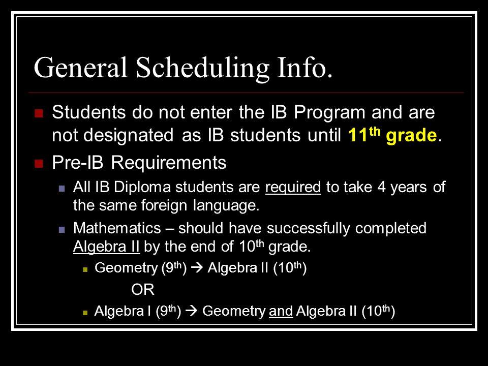 Should I not do the IB program?