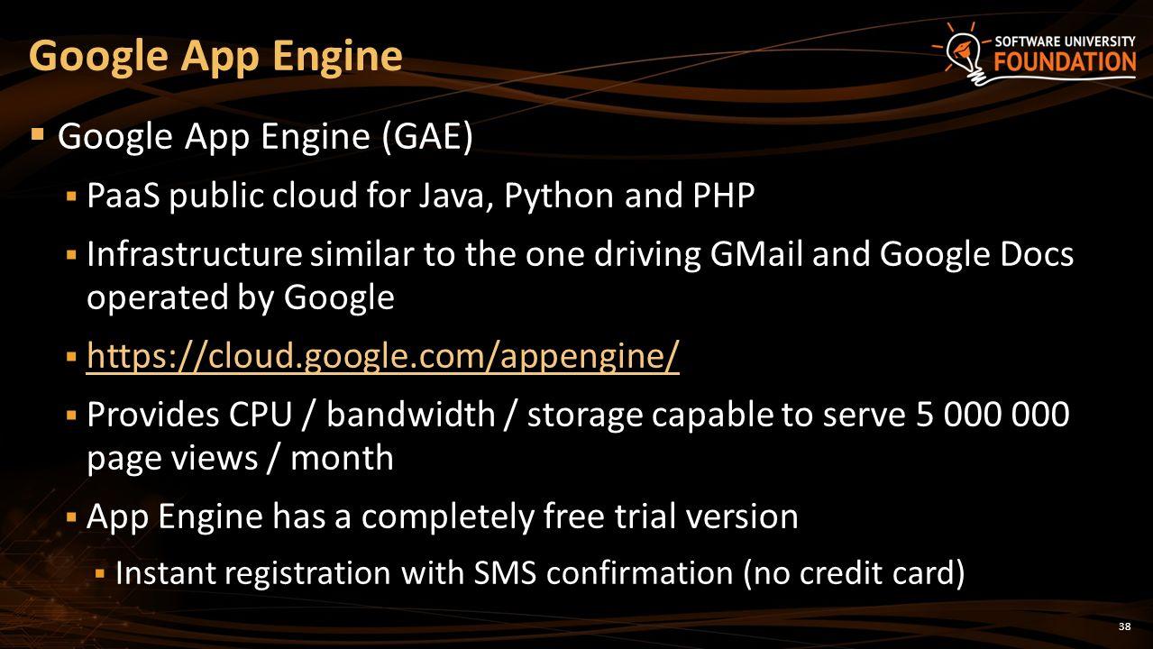 Cloud technologies and cloud platforms cloud concepts iaas paas gae the google s public cloud platform 38 38 baditri Choice Image