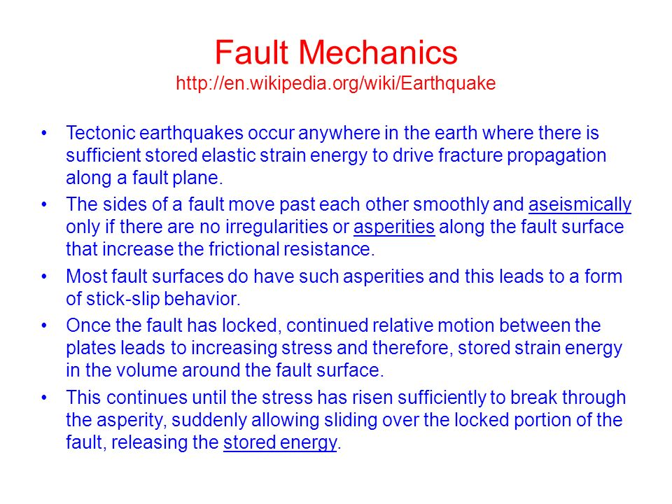 Lecture 6 Energy, Magnitude, Intensity John Rundle GEL 131 WQ ppt ...