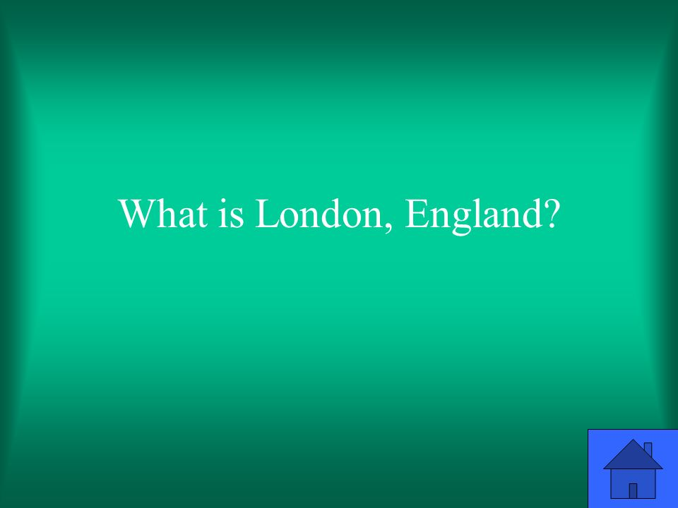 What is London, England