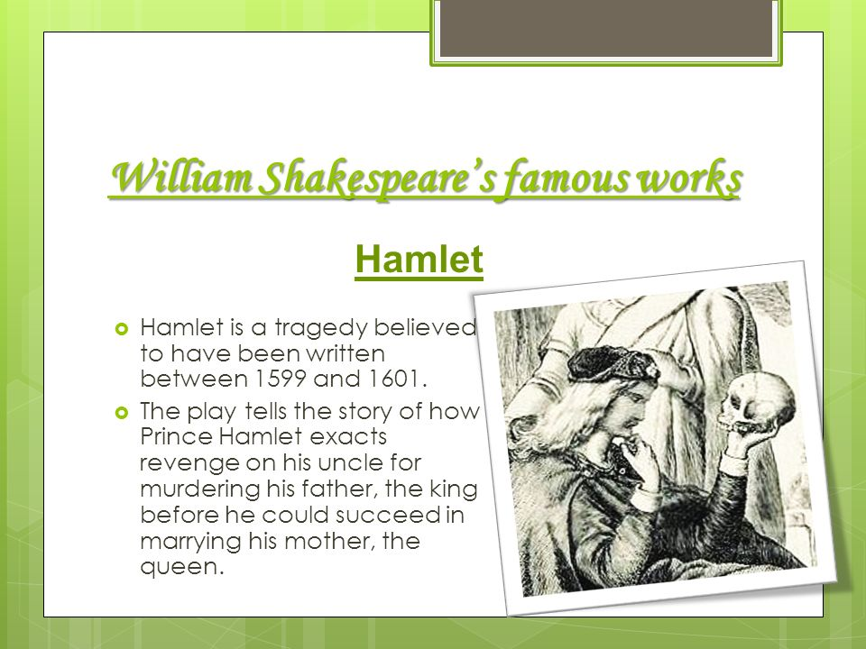 an analysis of insanity in the character hamlet in the play hamlet by william shakespeare Madness and insanity in shakespeare hamlet william shakespeare's tragic play hamlet is shakespeare's hamlet, the lead character.