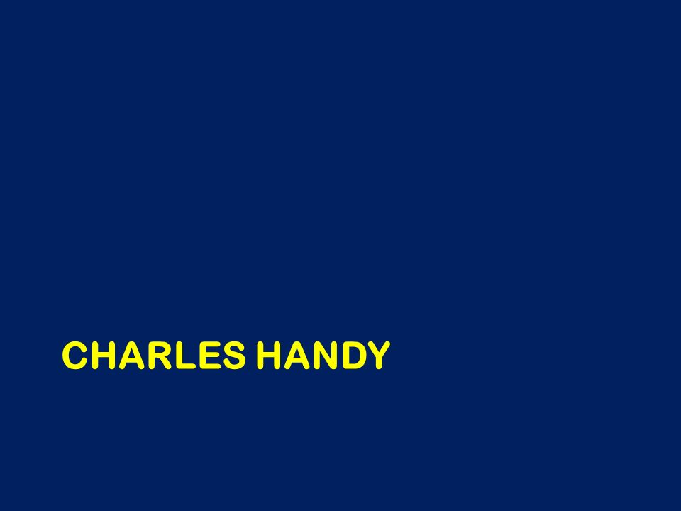 CHARLES HANDY