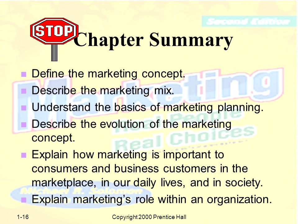1-15Copyright 2000 Prentice Hall Why is Marketing Important.