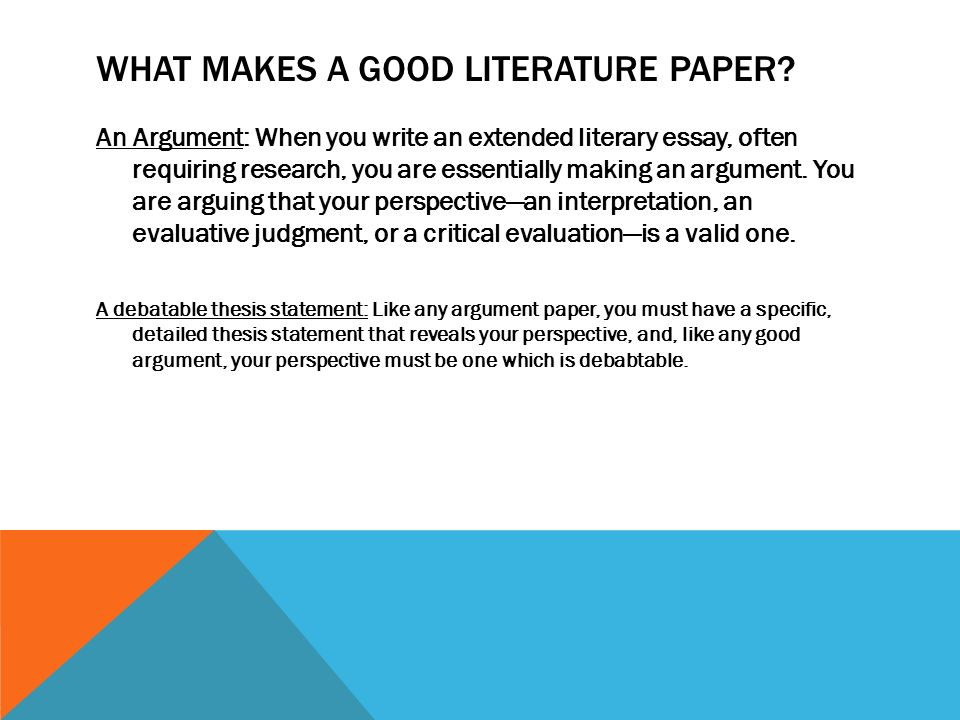 good argument topics for research papers