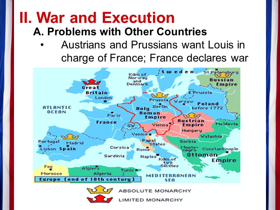 II. War and Execution A.