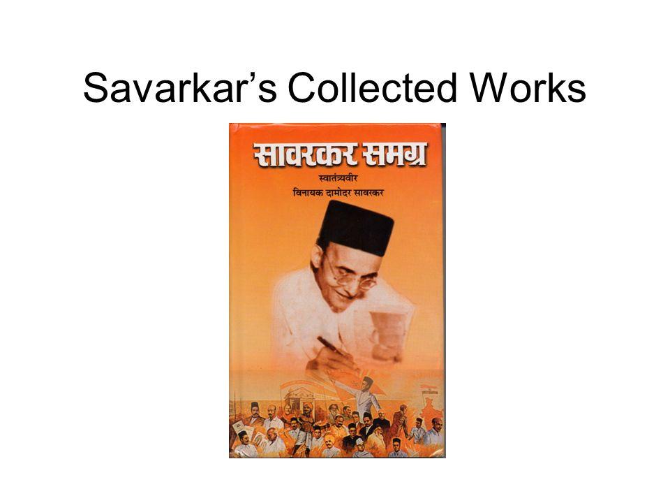 Savarkar's Collected Works