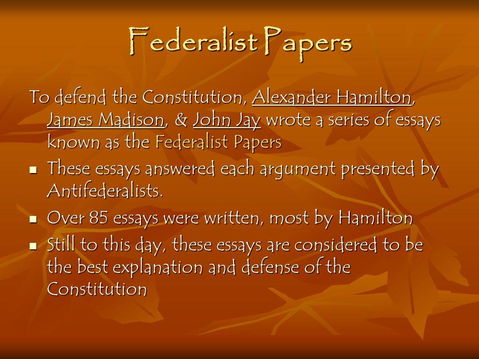 written constitution essays
