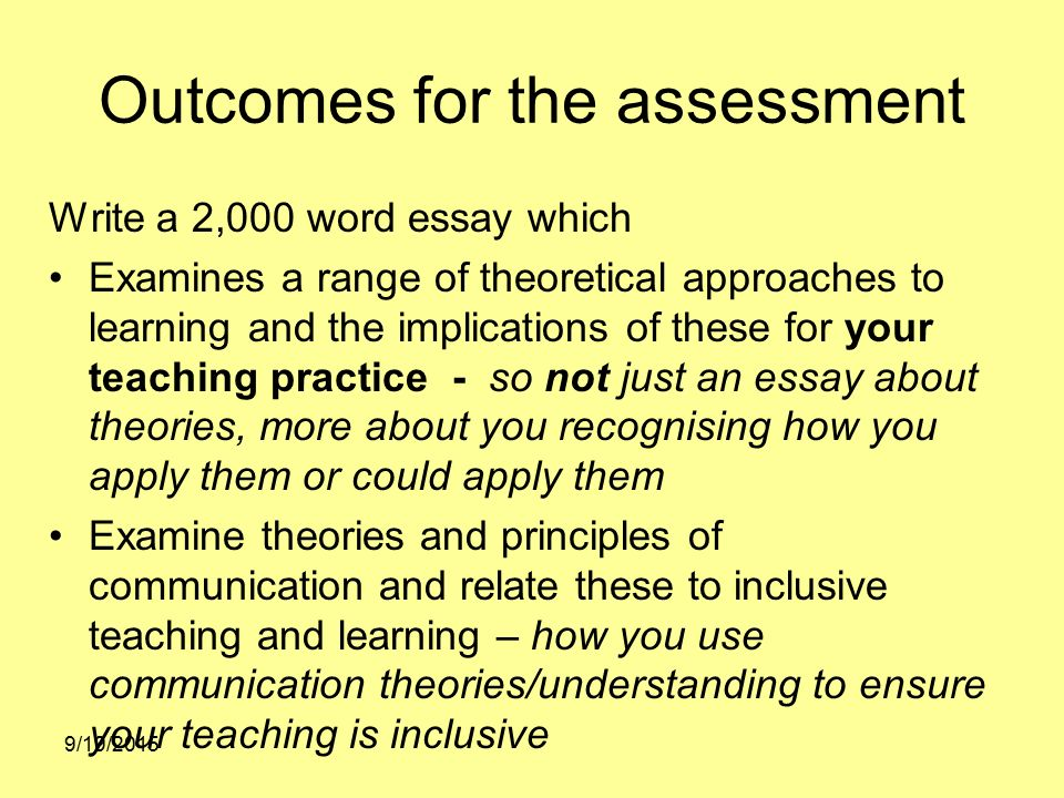 unit 3 enabling learning and assessment essay Tpa #3 classroom assessment of academic learning goals 12/7/12 4:15 pm page 1 of 28 tpa #3 classroom assessment of academic learning goals.