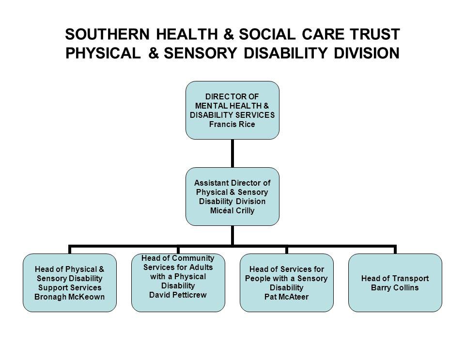 1 SOUTHERN HEALTH & SOCIAL ...
