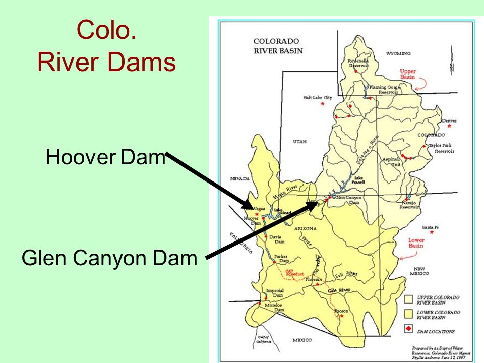 Humid Temperate Landscapes A Regional Approach All Elements Of - Colo river map