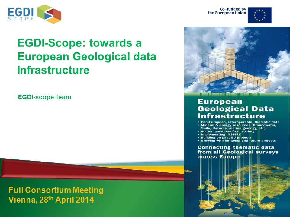 EGDI-Scope: towards a European Geological data Infrastructure Full Consortium Meeting Vienna, 28 th April 2014 EGDI-scope team