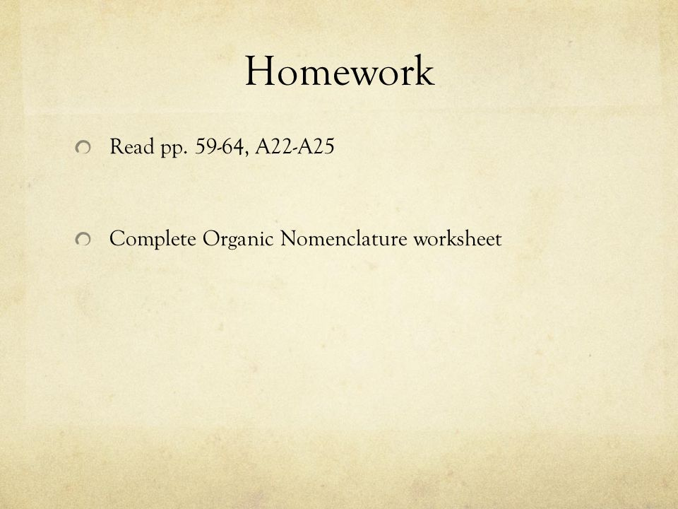 Organic Chemistry Alkanes Simplest organic compounds ane – The Complete Organic Chemistry Worksheet