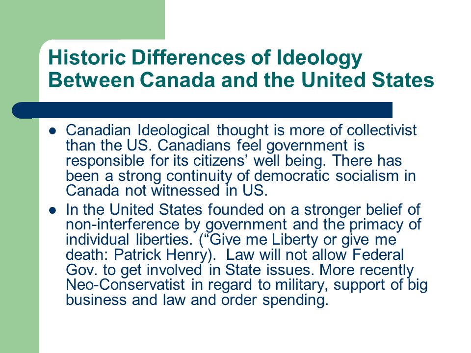 What are the ideological influences that have shaped the regulation of the Canadian banking system?