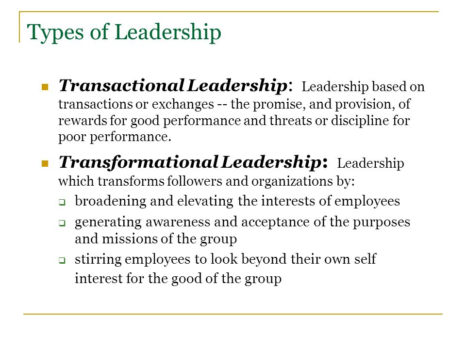Sample Essay On Leadership