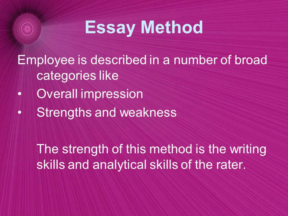 Personal Strengths And Weaknesses Essay
