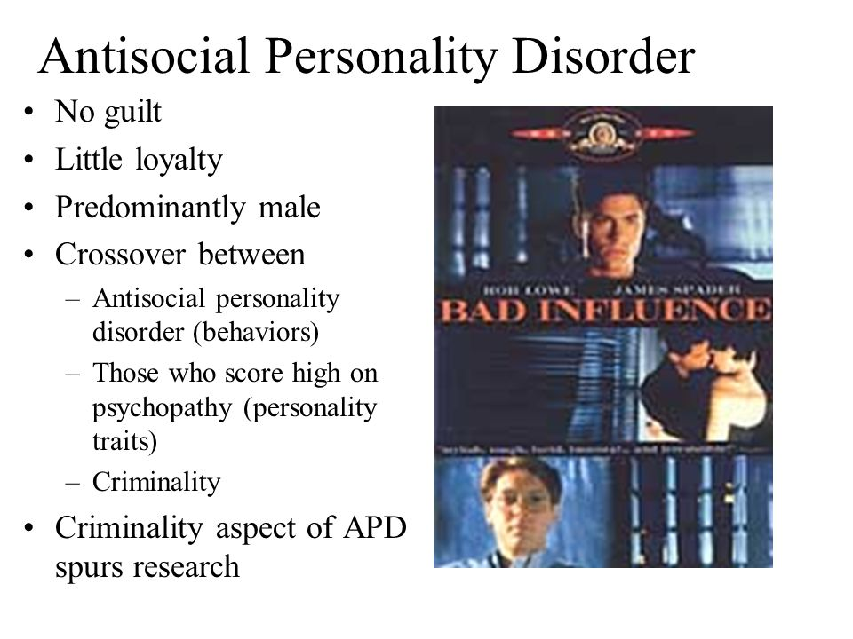 antisocial personality disorder essay conclusion Antisocial personality disorder this research paper antisocial personality disorder and other 63,000+ term papers, college essay examples and free essays are available now on reviewessayscom.