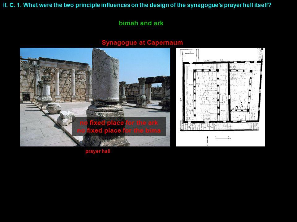 Synagogue at Capernaum II. C. 1.