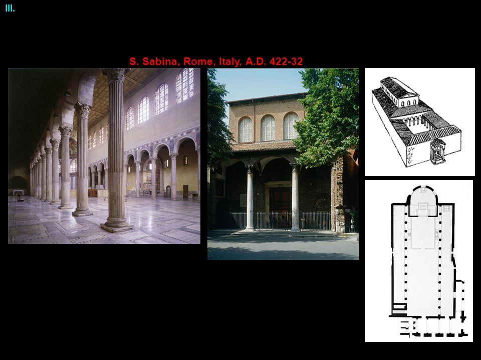 III. S. Sabina, Rome, Italy, A.D. 422-32