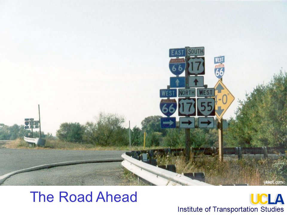 Institute of Transportation Studies The Road Ahead