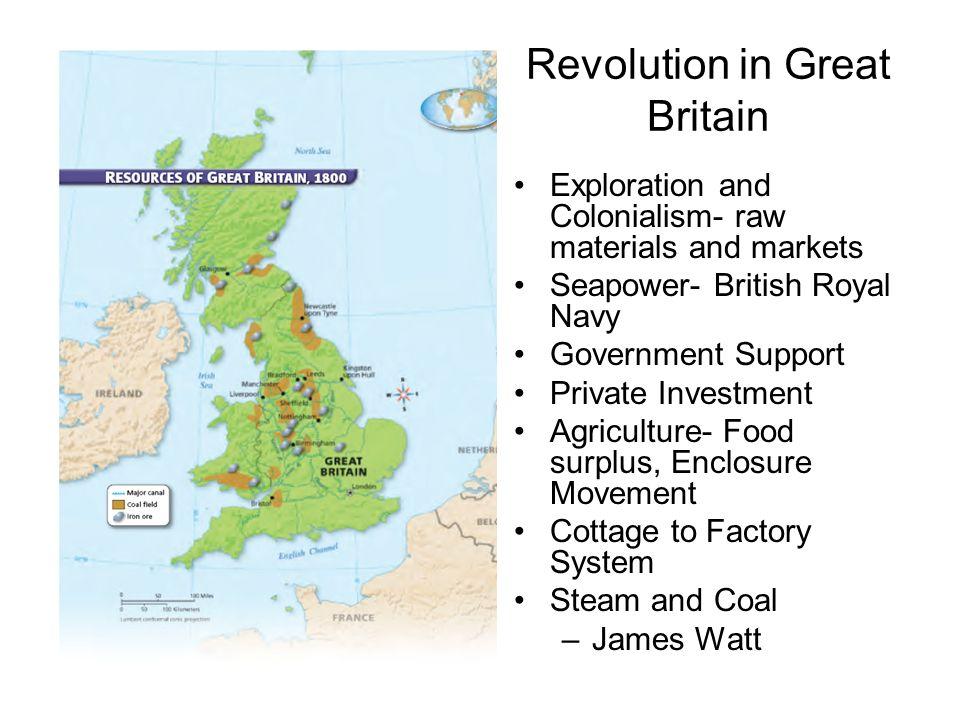 industrial revolution great britain