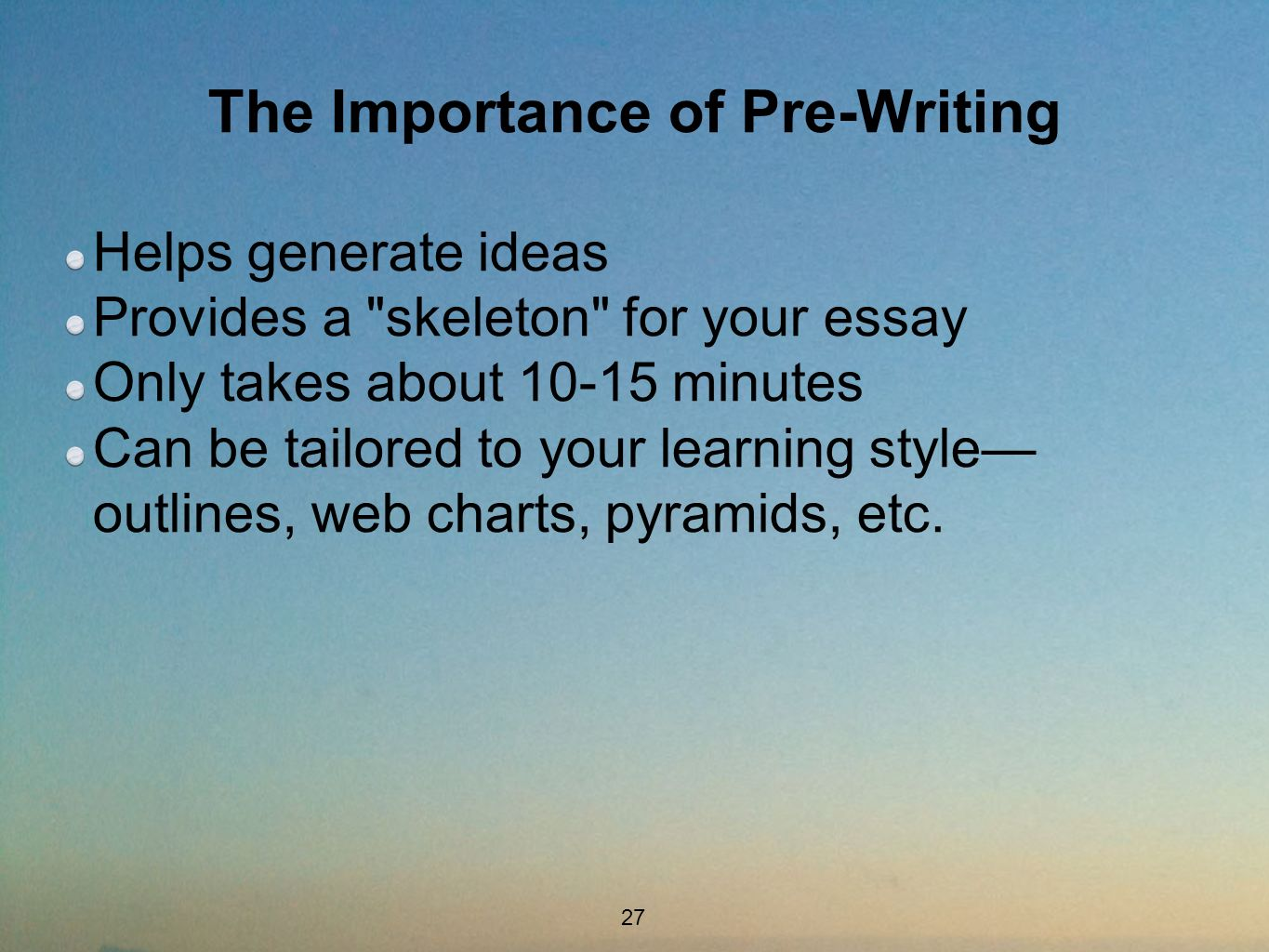 essay on learning styles write the essay best images about  writer s workshop how to become a more successful writer foa the importance of pre writing