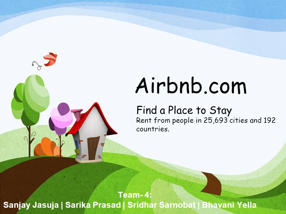 Airbnb.com Find A Place To Stay Rent From People In 25,693 Cities And 192