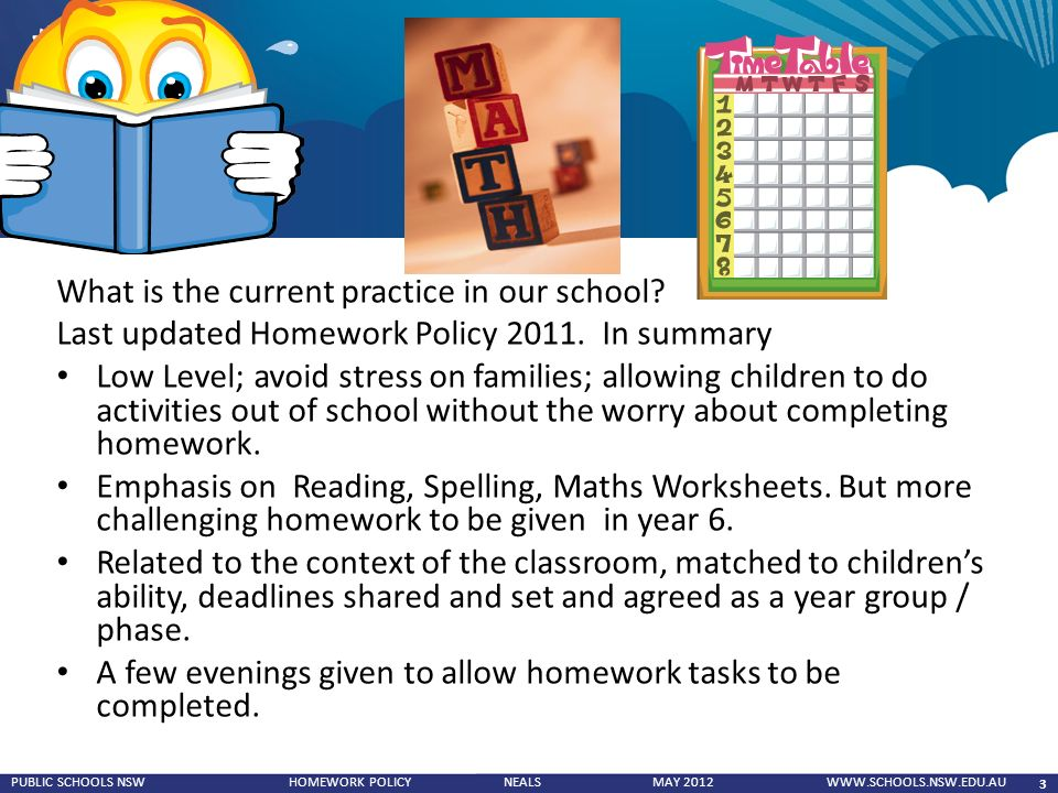 St Wilfrid s RC Primary School   Homework Policy