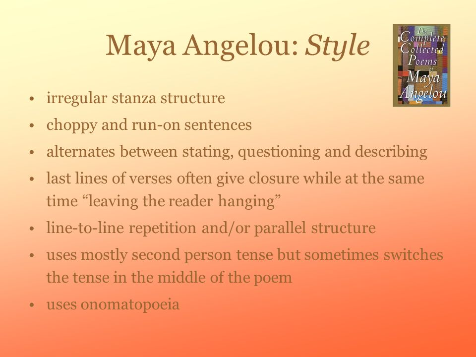 champion of the world maya angelou summary
