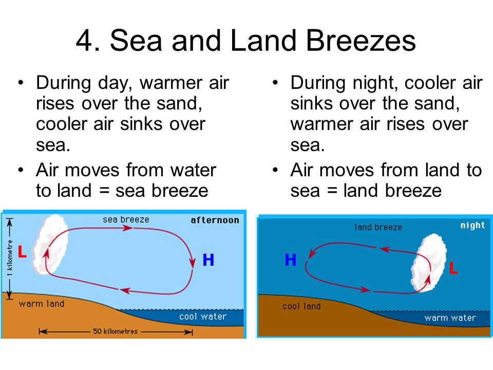Pictures Land And Sea Breeze Worksheet - Studioxcess