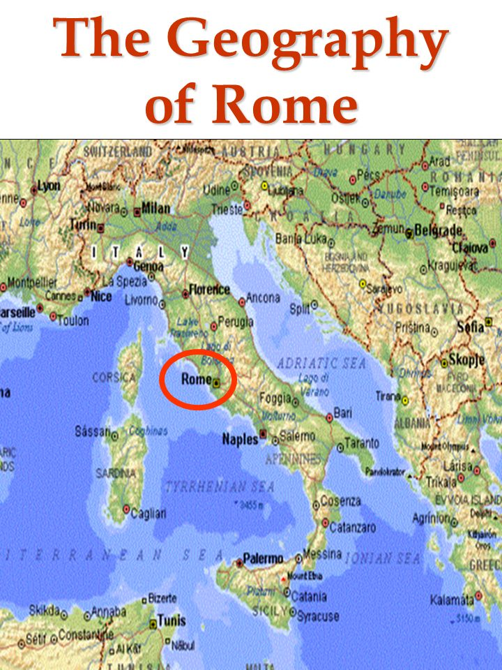 The Geography Of Rome The Mythical Founding Of Rome Romulus - Geography of rome