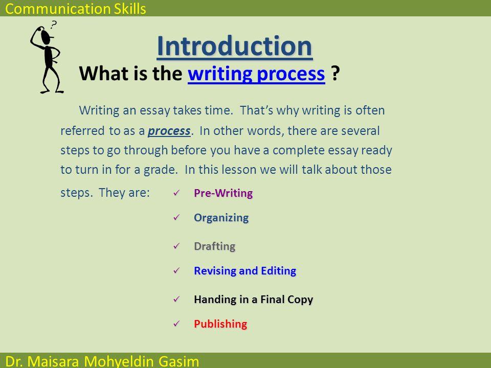 communication skills dr maisara mohyeldin gasim chapter writing  4 communication