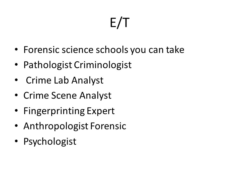 Forensic Video. Job Description Employment Of Forensic Science
