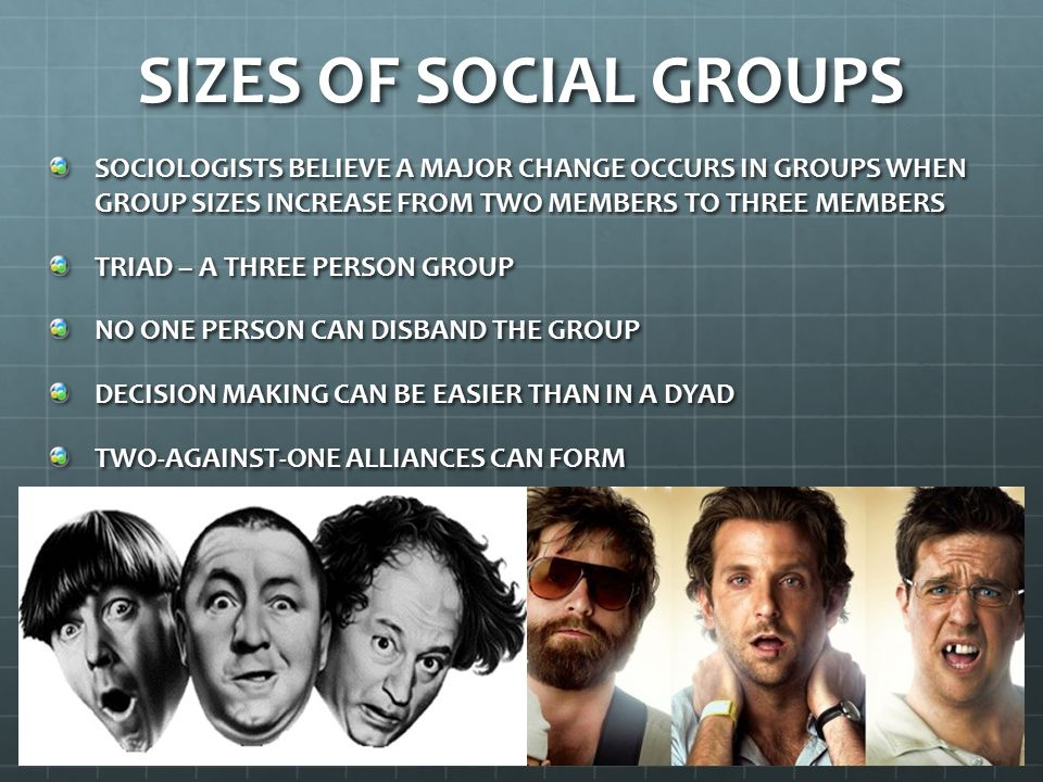 What would different social Groups be?