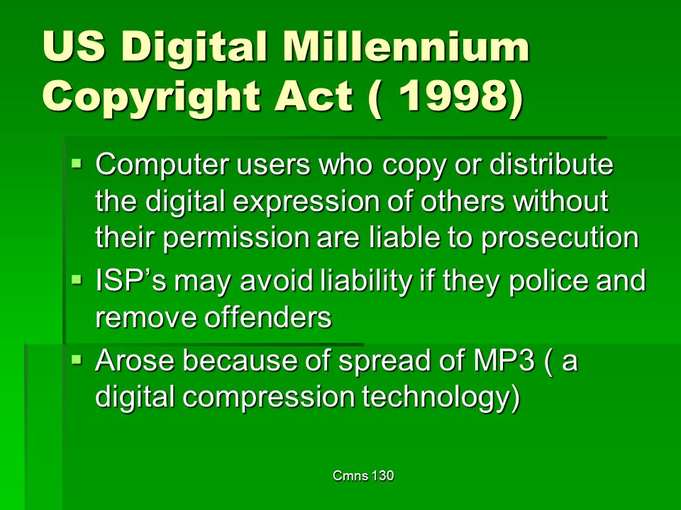 us digital millennium copyright act definition