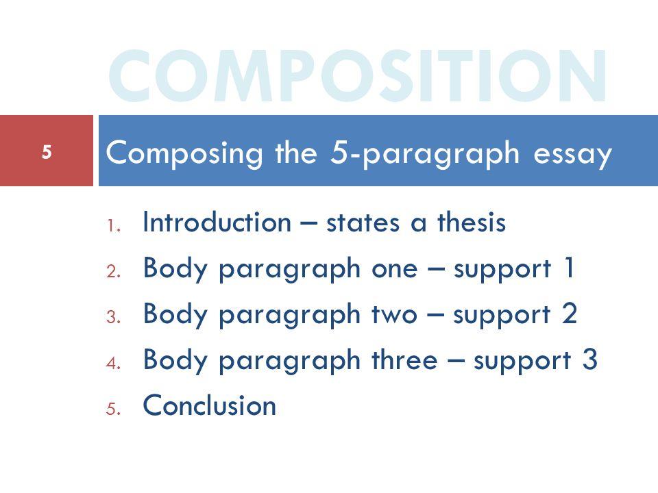 2 body paragraph essay