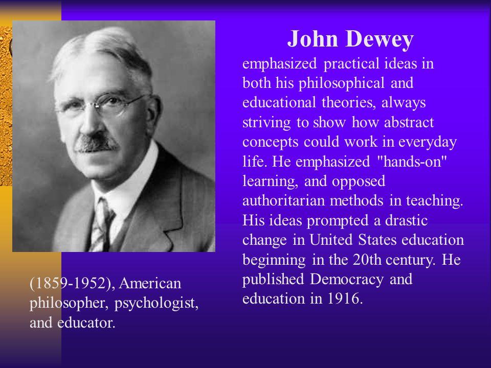 john dewey s problem solving models