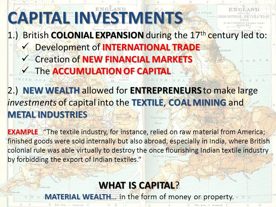 CAPITAL INVESTMENTS WHAT IS CAPITAL WHAT IS CAPITAL.