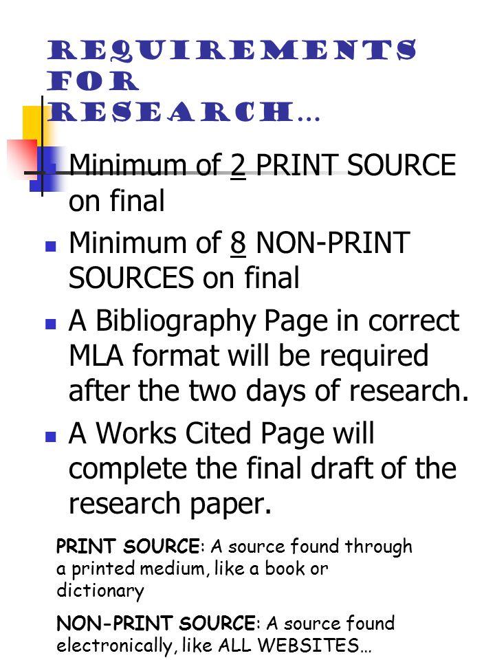 Senior Research Paper