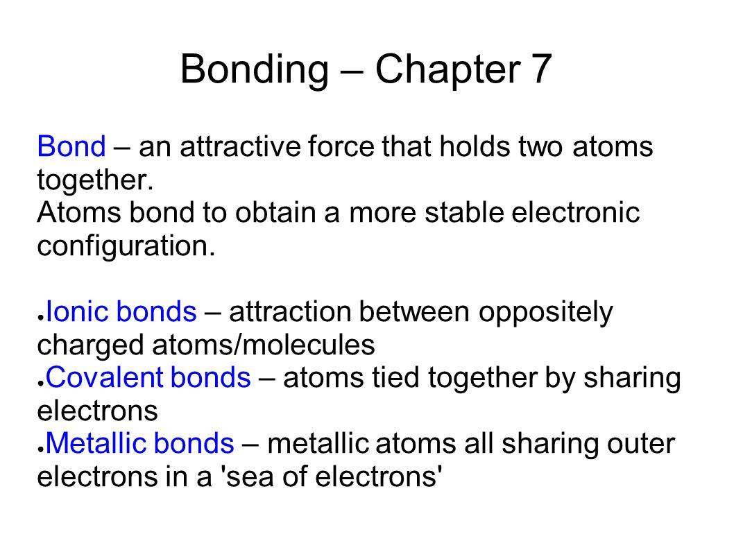 Ionic and metallic bonding worksheet answers