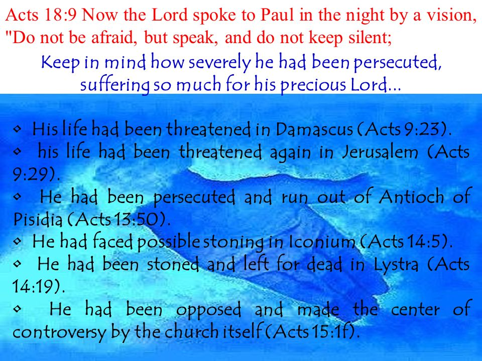 Acts 18:1… After these things Paul departed from Athens and went ...