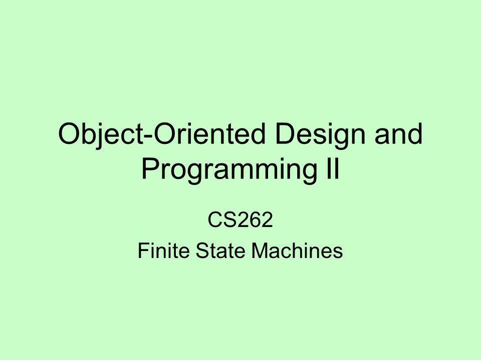 finite state machine ppt  software
